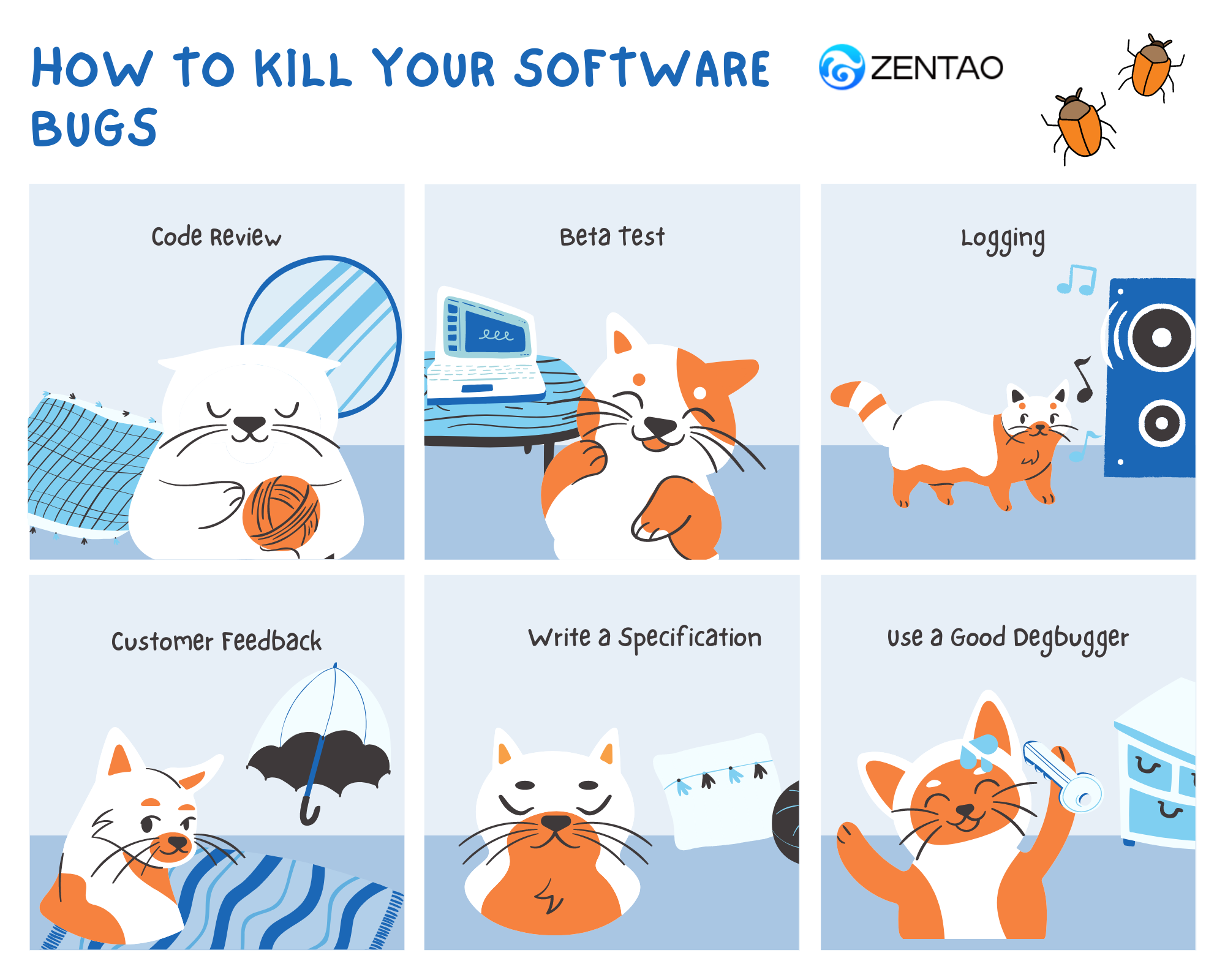 https://www.zentao.pm/blog/how-to-kill-your-software-bugs-949.html